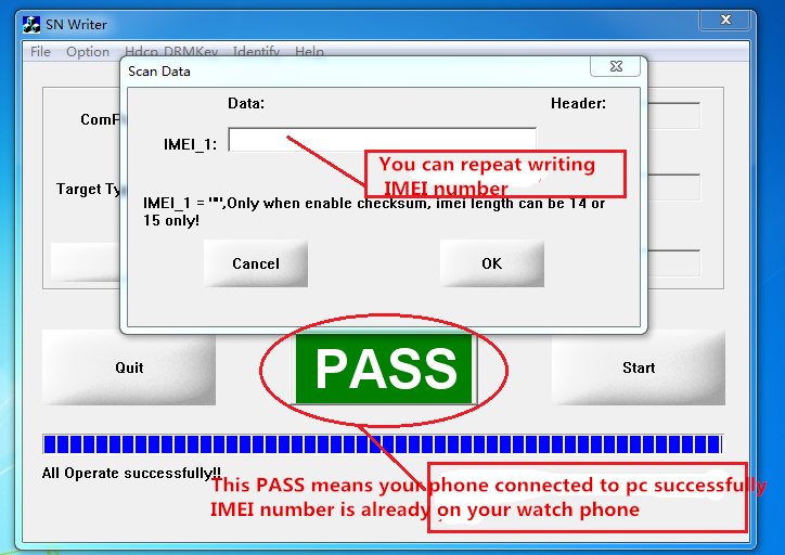 How to write IMEI on NO 1 Smartwatch – NO 1 Smartwatch, start your