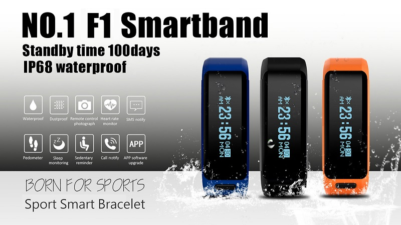 NO 1 F1 SmartBand How to Connect with APP? – NO 1 Smartwatch, start