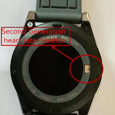 The second generation heart rate monitor in NO 1 G6 – NO 1