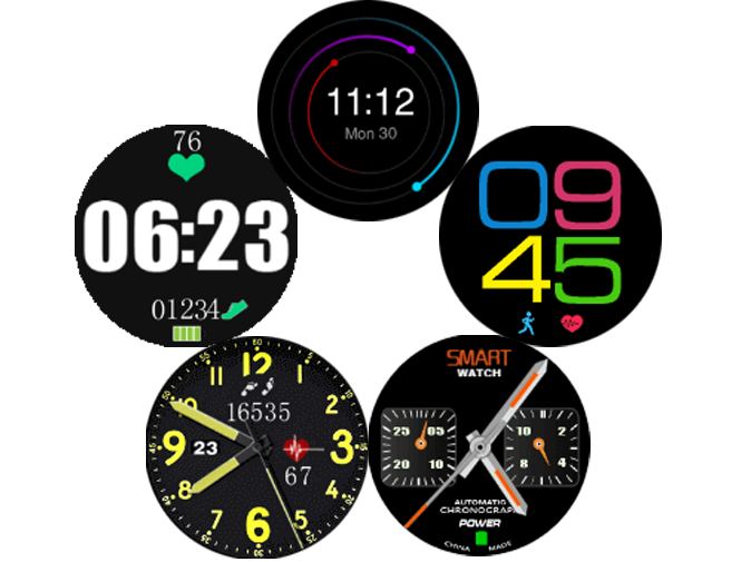 G6 new watchface
