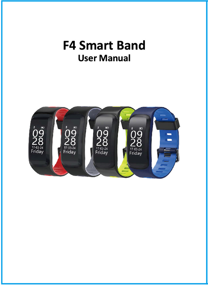 NO 1 products user manual – NO 1 Smartwatch, start your