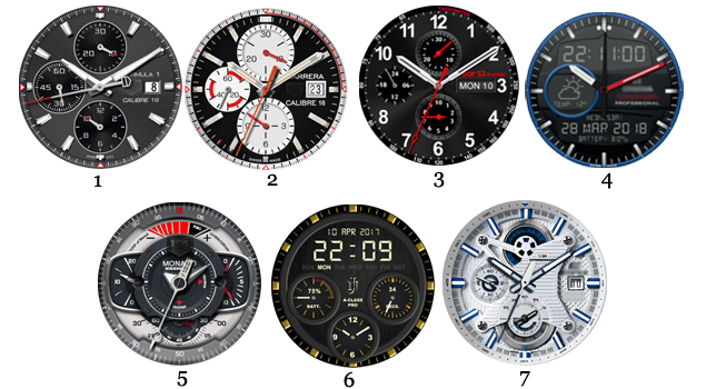 Android watchfaces
