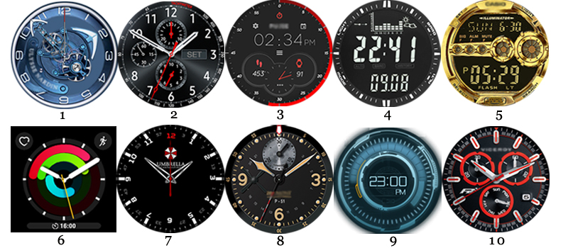 VXP watchfaces