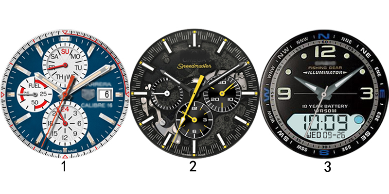 top downloaded Android watchfaces