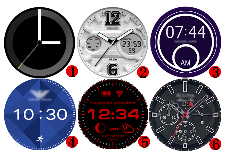vxp watch face